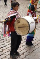 musico en desfile