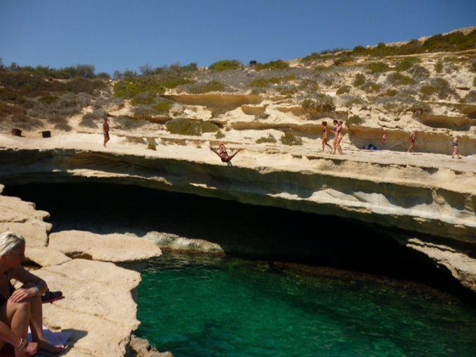 saltos_stpeters_malta_elviajenotermina_blog de viajes