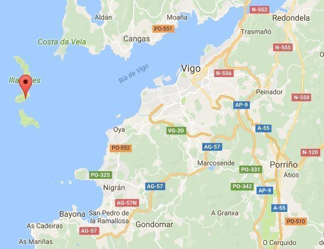 mapa_islas cies_blog viajes_el viaje no termina