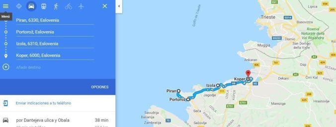 Costa de Eslovenia - Blog Viajes - El Viaje No Termina