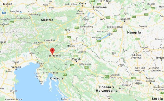 Ubicación Liubliana - Eslovenia - Blog Viajes - El Viaje No Termina