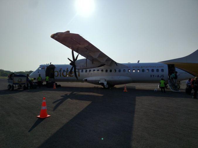 Avión Birmania - Blog Viajes - El Viaje No Termina