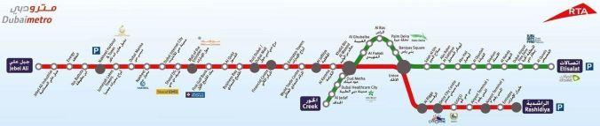 Metro Dubai - El Viaje No Termina - Blog de Viajes