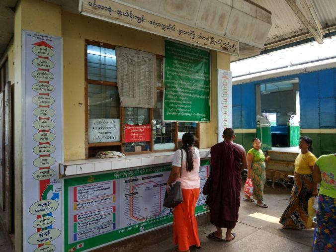 Venta billetes tren Birmania - Blog Viajes - El Viaje No Termina