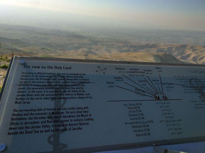 Monte Nebo - Viaje a Jordania - El Viaje No Termina