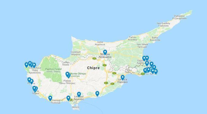 Puntos interés Chipre - El Viaje No Termina
