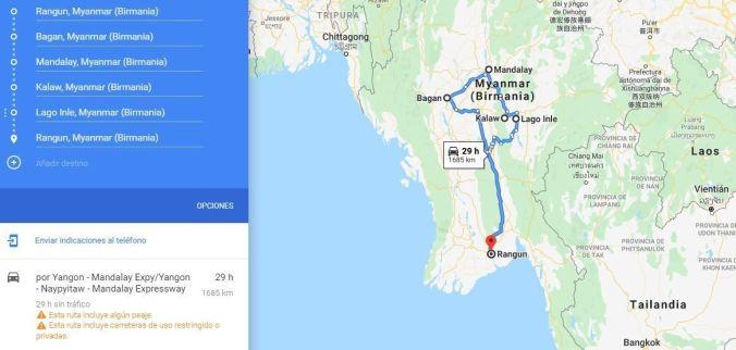 Ruta Birmania - El Viaje No Termina