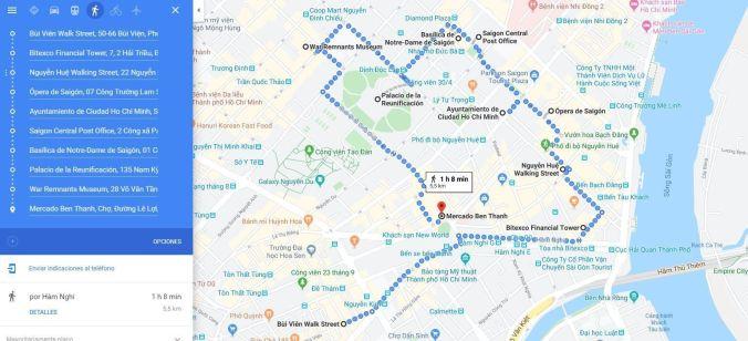 Ruta pie Ho Chi Minh - Vietnam - El Viaje No Termina