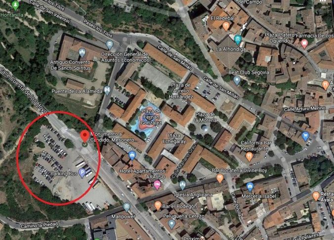 Parking Segovia - El Viaje No Termina