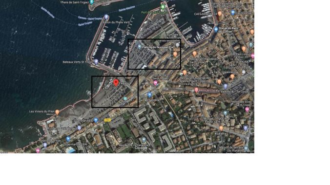 Parking Saint Tropez - Ruta Costa Azul - EVNT