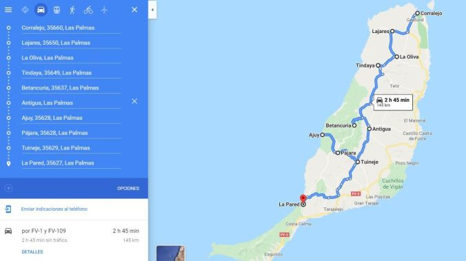 Ruta Interior Fuerteventura - El Viaje No Termina