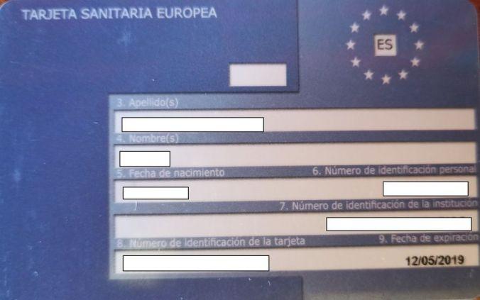 Tarjeta Sanitaria Europea - El Viaje No Termina