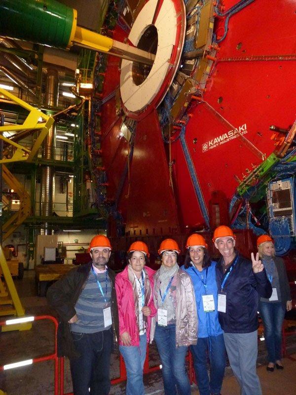 El grupo en el CERN