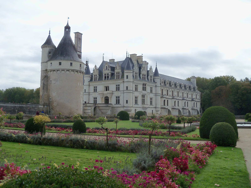 Castillo de Chenonceau en Loira