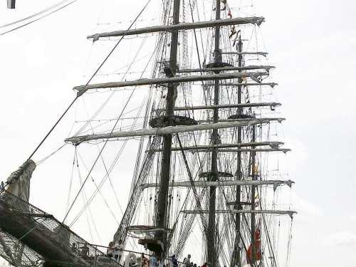 elviajeroaccidental visita el buque escuela a vela peruano BAP Unión