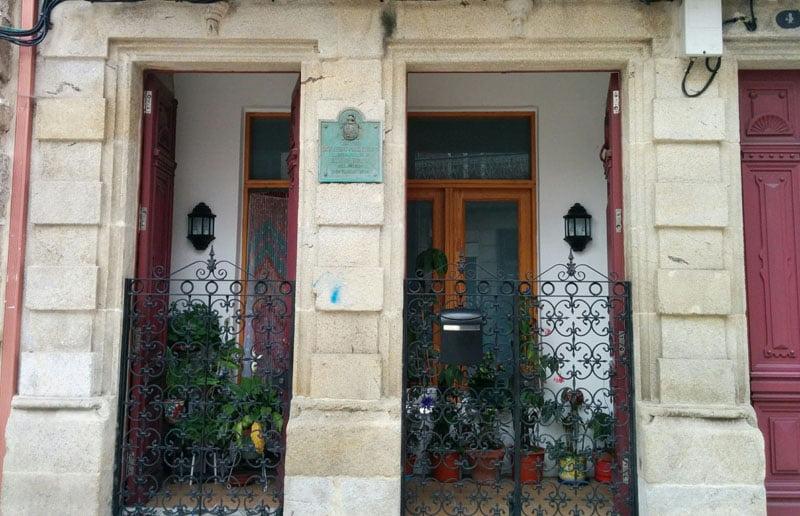 Casa en la que vivió el último alcalde de Bouzas
