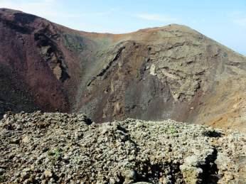 """IMG_1820 """"Caminando sobre un paisaje marciano"""": Timanfaya"""