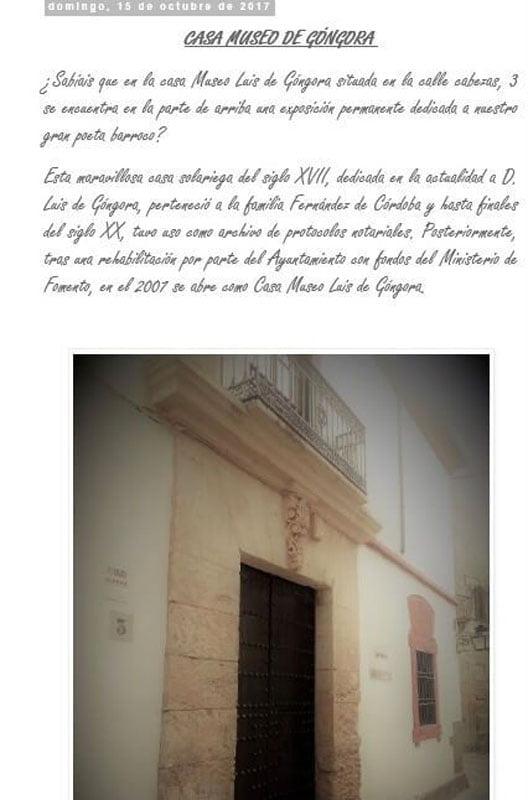 Casa de Góngora