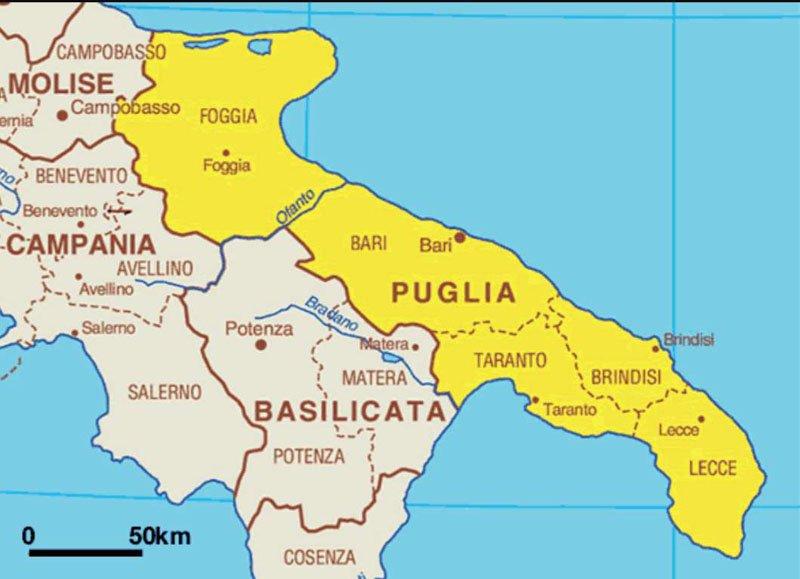Situación de Lecce_ Google
