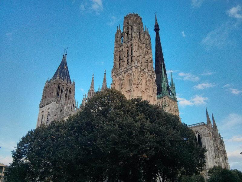 Catedral de Rouen en Normandía