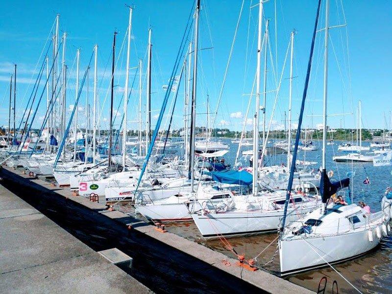 Puerto de veleros de Colonia del Sacramento
