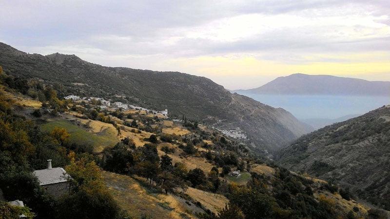 Vista desde Capileira