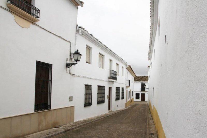 Vista de la Calleja de la Paz en Cañete de las Torres en Córdoba