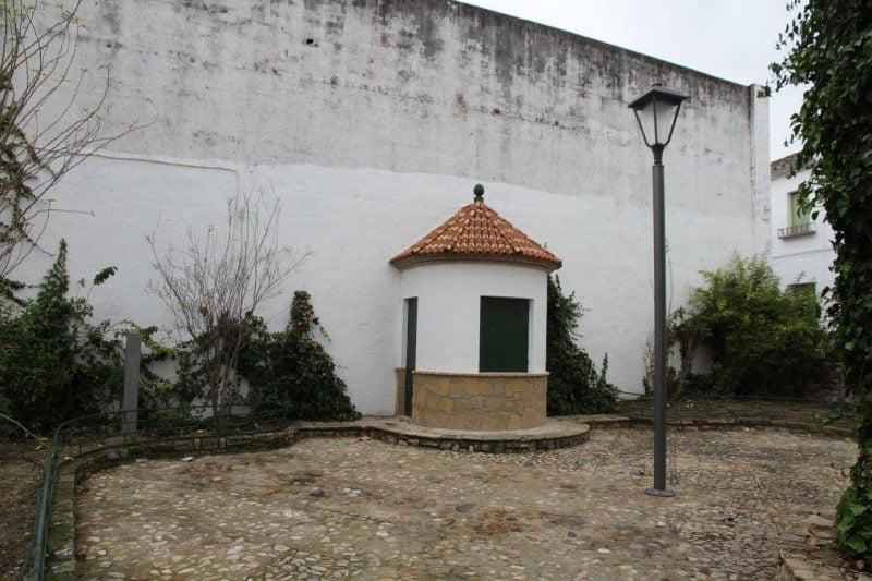 Plaza de Santa Ana en Cañete de las Torres en Córdoba