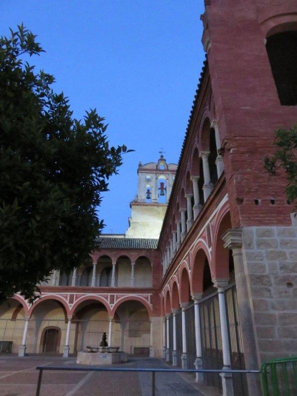 Claustro de la iglesia de San Francisco en Córdoba