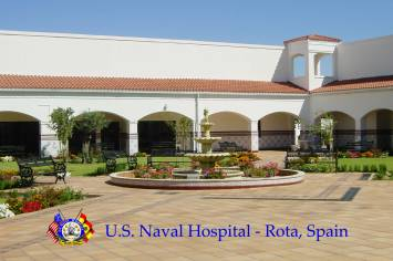 US Naval Hospital Rota Spain