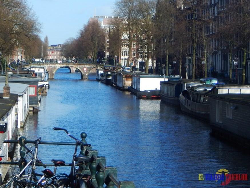 Casas flotantes de Amsterdam