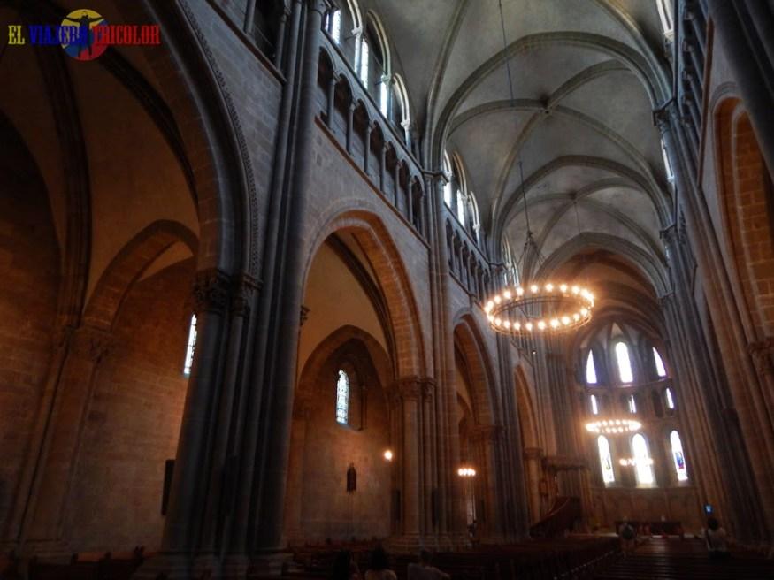 Interior de la Catedral de Ginebra