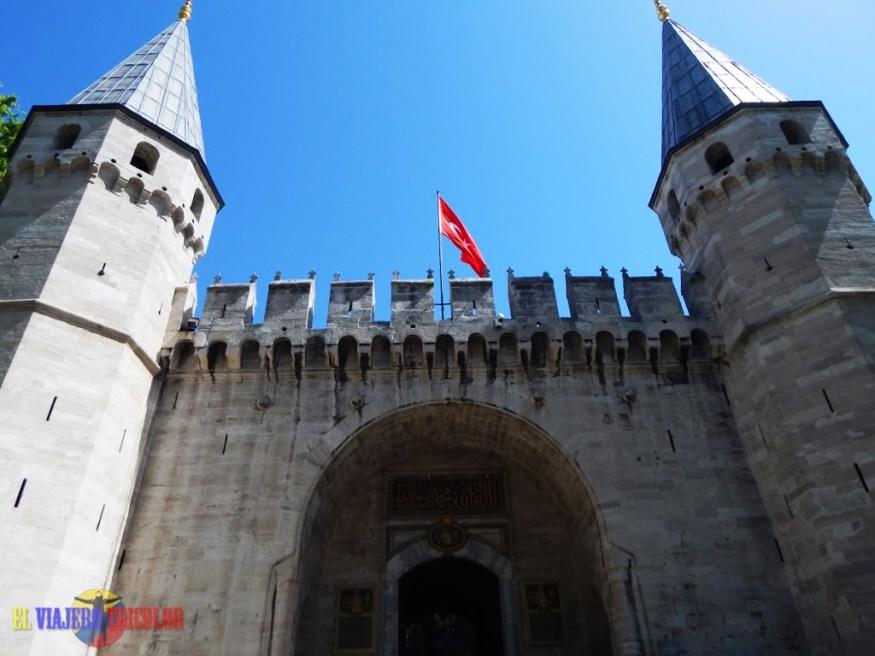 Puerta de la Acogida Topkapi