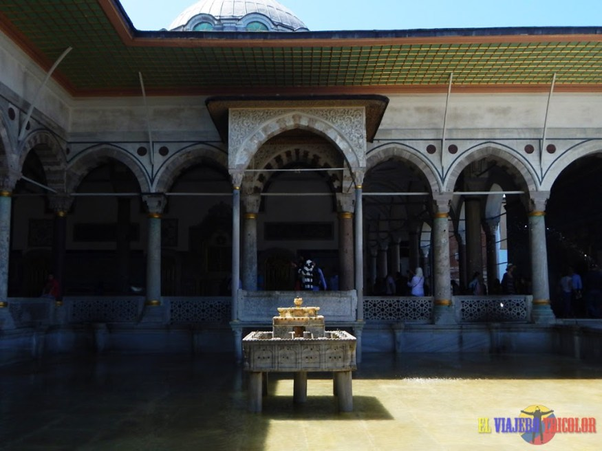 Fuente en el Palacio de Topkapi