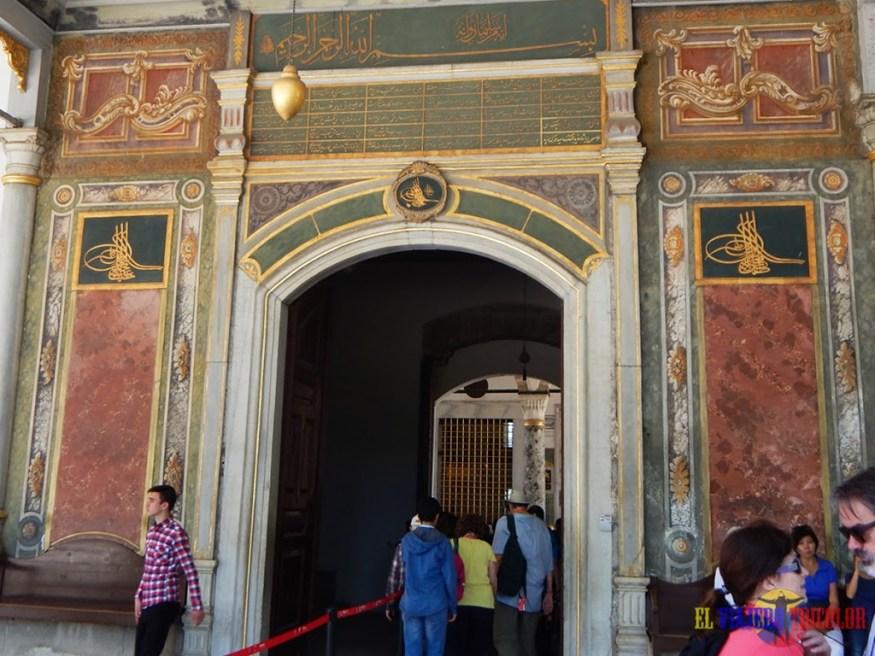 Puerta de la Felicidad Topkapi