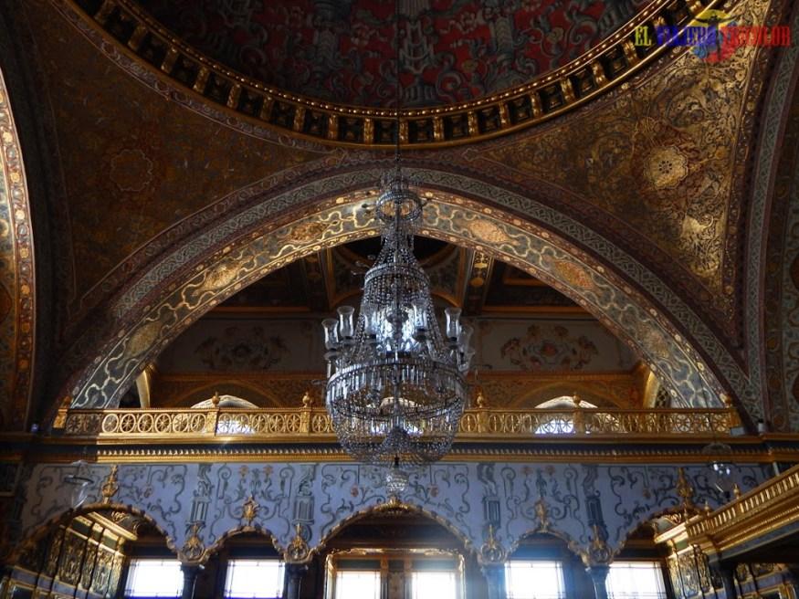 Lámpara central Palacio de Topkapi