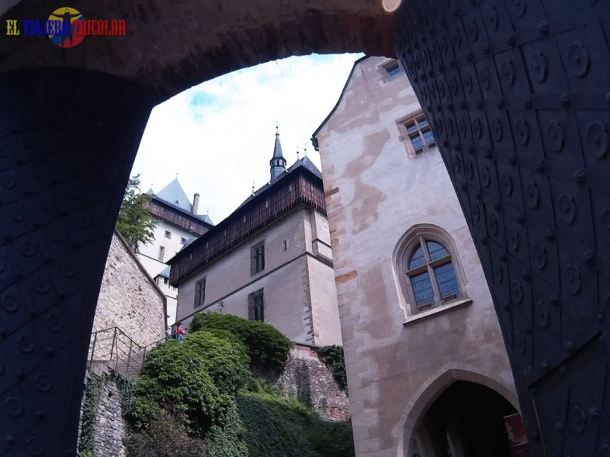 Castillo de Karlstein cerca a Praga
