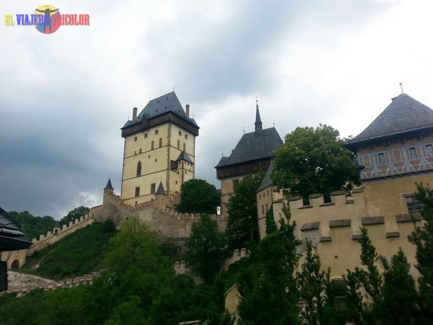 Arquitectura Castillo de Karlstein