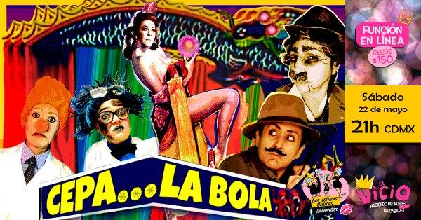 Evento en Facebook: Cepa La Bola, 22 de mayo