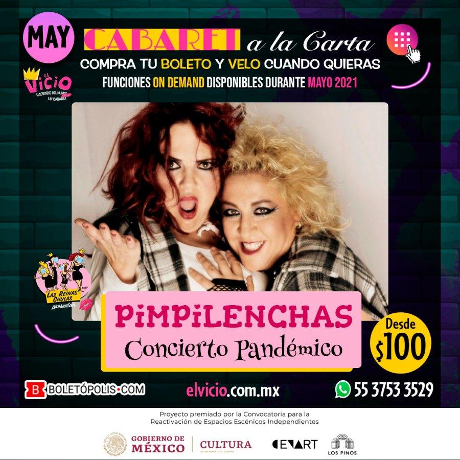 Postal Pimpilenchas: Concierto Pandémico, disponible en mayo 2021