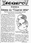 """Crítica de l'estrena de """"Paral•lel 1934"""" (16/03/1953)"""