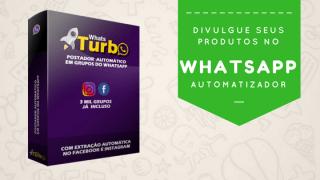 divulgue seus produtos no whatsapp com o whatsturbo
