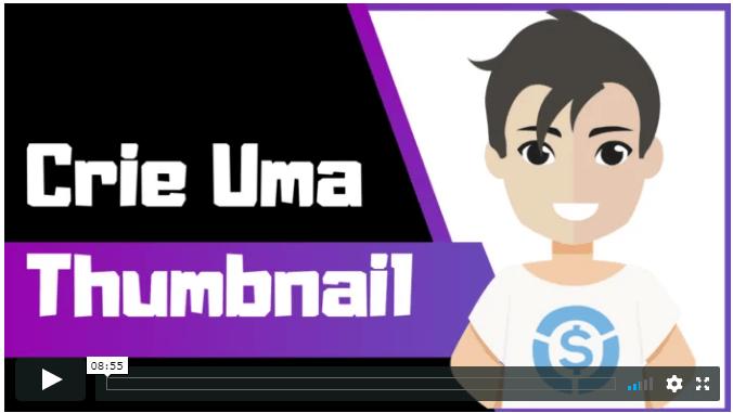 Aprenda Como Criar Um Thumbnail Utilizando Um Dos Nossos Templates