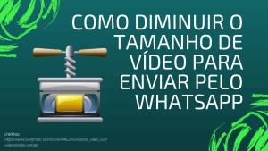 capa videosmaller como usar