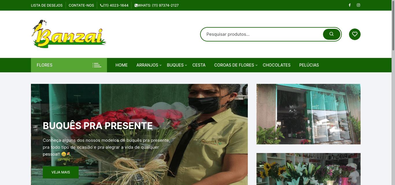 banzaifloricultura cliente elvio sites