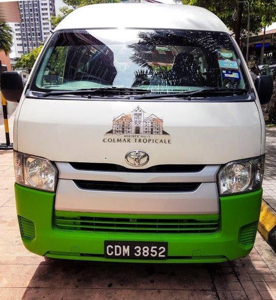 colmar tropicale shuttle bus How to go berjaya hill Colmar Tropicale