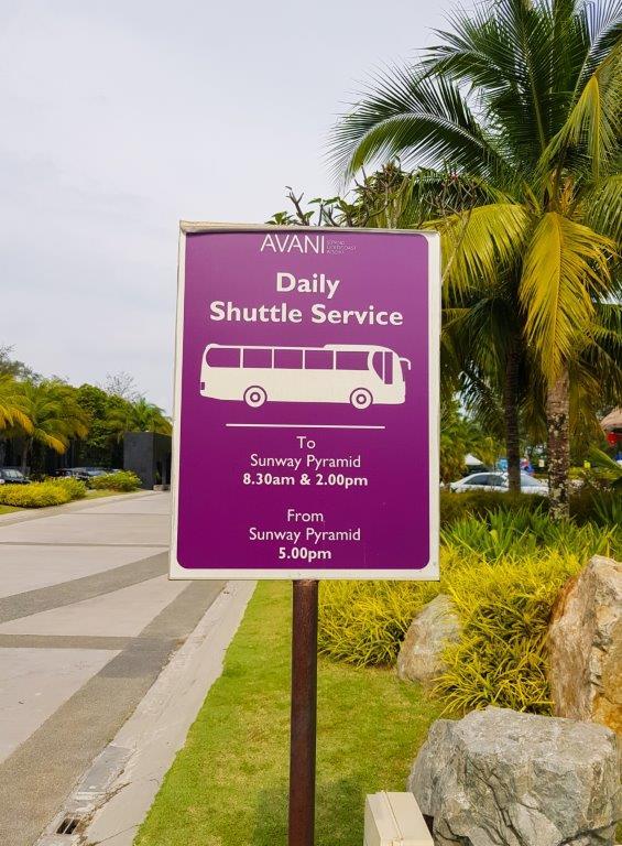 Avani Bus Schedule avani sepang goldcoast resort price