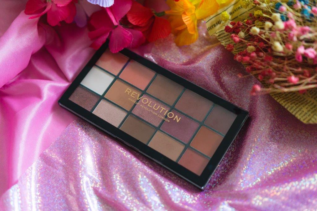 makeup revolution london revolution london eyeshadow rose gold palette