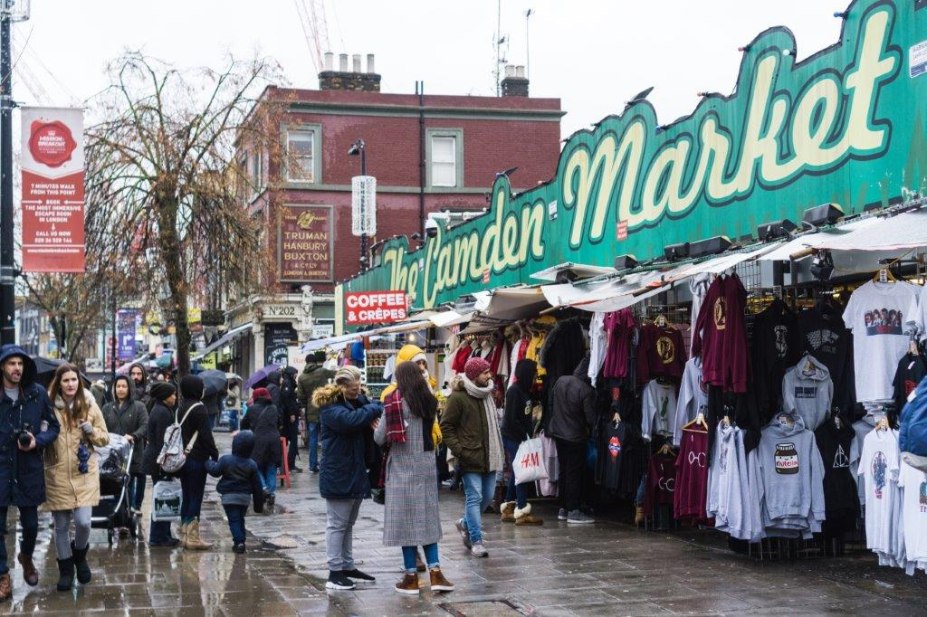 Camden Town interesting places in london to visit