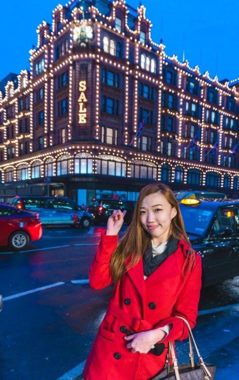 Harrods london tourist spots